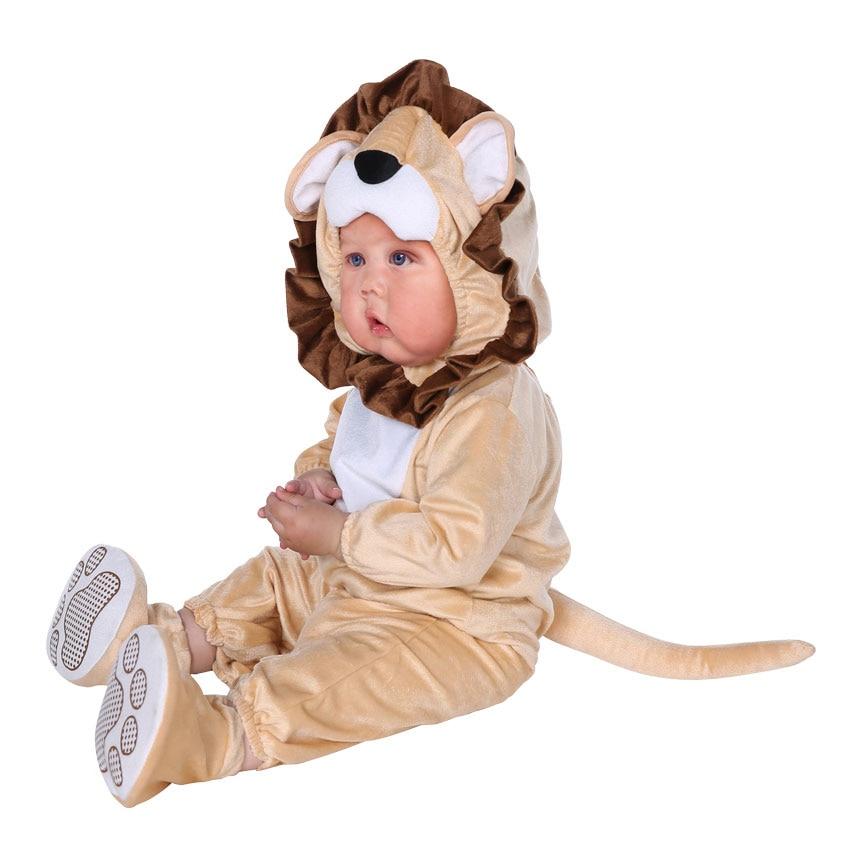 Halloween Infant Toddler Lovable Animal Lion Costume  1