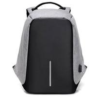 Anti Theft Backpack USB Charging Men Laptop Backpacks For Teenagers Male Mochila Waterproof Travel Backpack