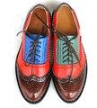21 Цветов Новый 2016 женщин Из Натуральной Кожи Оксфорды Старинные Случайные Одной Обуви Весна Осень Женщины Оксфорд Обувь