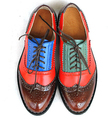 21 Colores Nuevo 2016 Oxfords de Cuero Genuino de Las Mujeres de La Vendimia Solo Zapato Casual Otoño Mujeres Zapatos Oxford