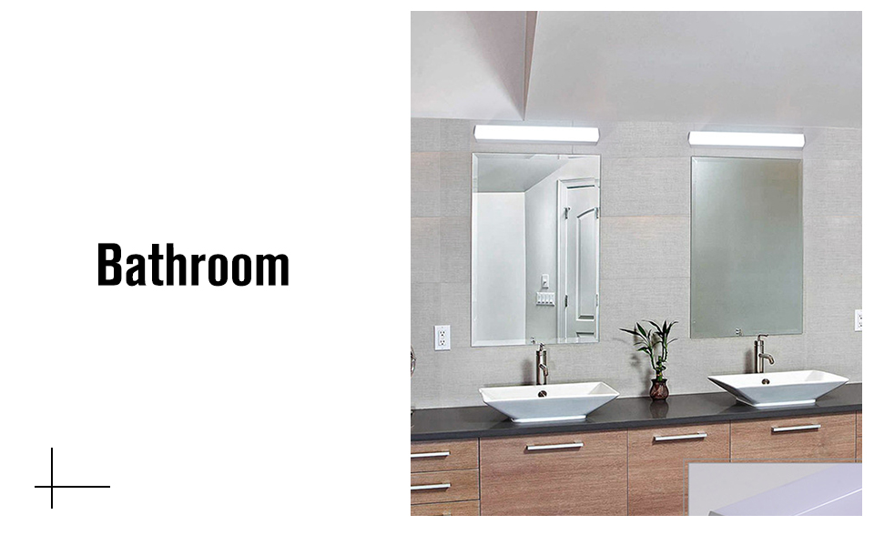 Modern LED Mirror Light 12W 16W 22W Wall Lamp Light Fixture Sconce Acrylic Wall Mounted Bedroom Bathroom Fixtures Vanity Light (5)