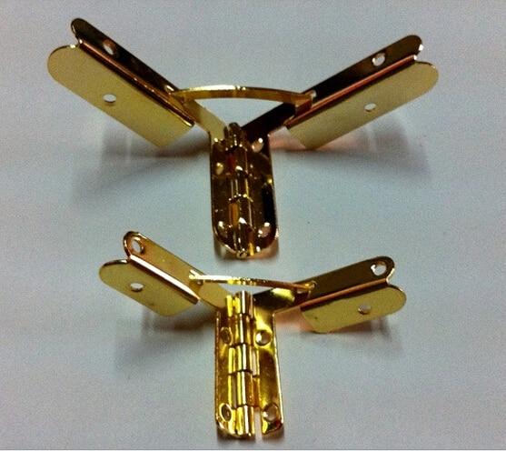 20pcs lot 40 50mm Factory direct Hinge Jin Support Wooden box hinge Iron sheet Aircraft Hinge