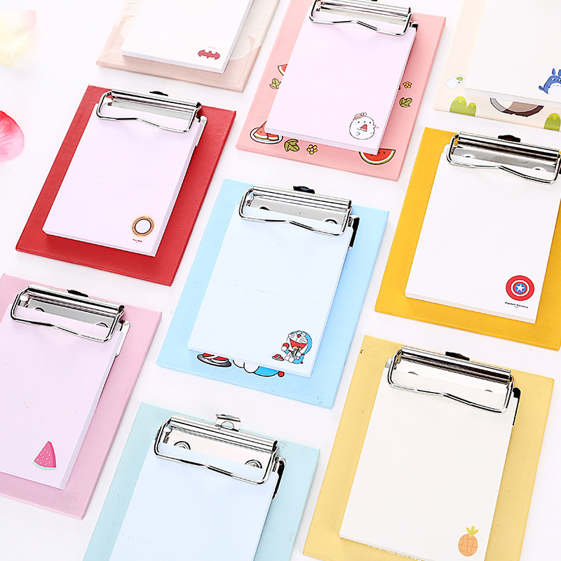 DIY Creative Kawaii Colored Sticky Paper Memo Pad Cute Cartoon Post It Note School Office Supplies Novelty Stationery Set