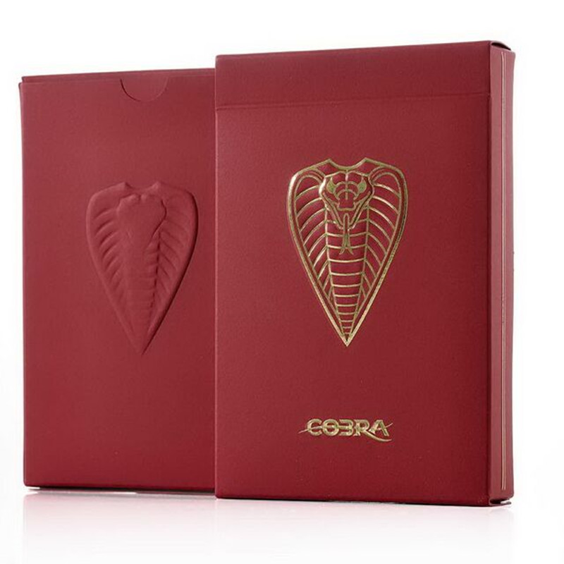 1 Pcs Cobra Cartes À Jouer Poker Taille Pont JPGames Personnalisé Édition Limitée Imprimé par Cartamundi accessoires de Magie Magia Astuces