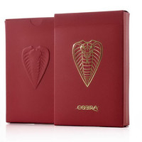 1Pcs Cobra Playing Cards Poker Size Deck JPGames Custom Limited Edition Printed by Cartamundi Magic Props Magia Tricks