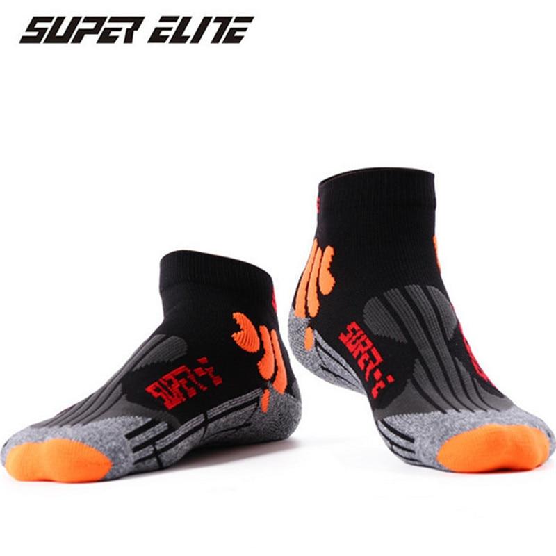 Running Socks (3 Pairs/lot) SUPER Elite/1006 Men Sport Socks Nylon Slipper Socks Outdoor Hiking Socks