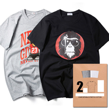 Cotton 3d t shirt Men Fashion Brand Cotton Short Sleeve t shirt Men's Print Shirts Slim Fit Casual T-Shirt Hip Hop Tshirt JDS12