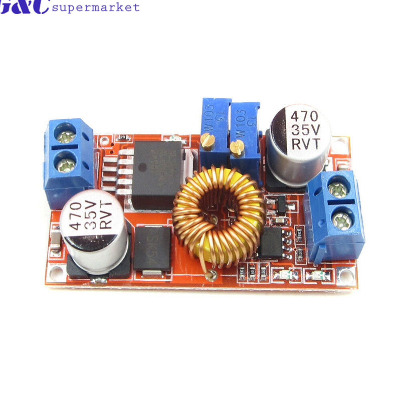 Smart Electronics Non-Isolated Constant Current And Voltage Lithium Charger Power Supply Module 5A LED Driver XL4005