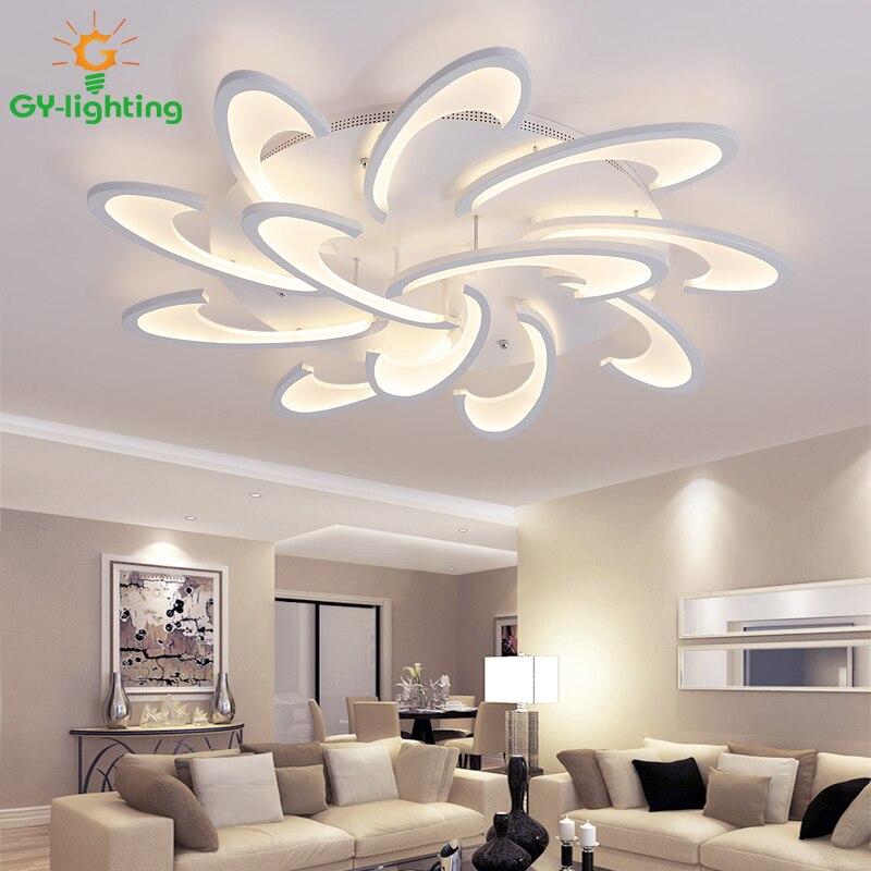 Светодиодный Современный потолочные светильники потолочный светильник креативный блеск светодиодный светильник lamparas de techo для фойе гости