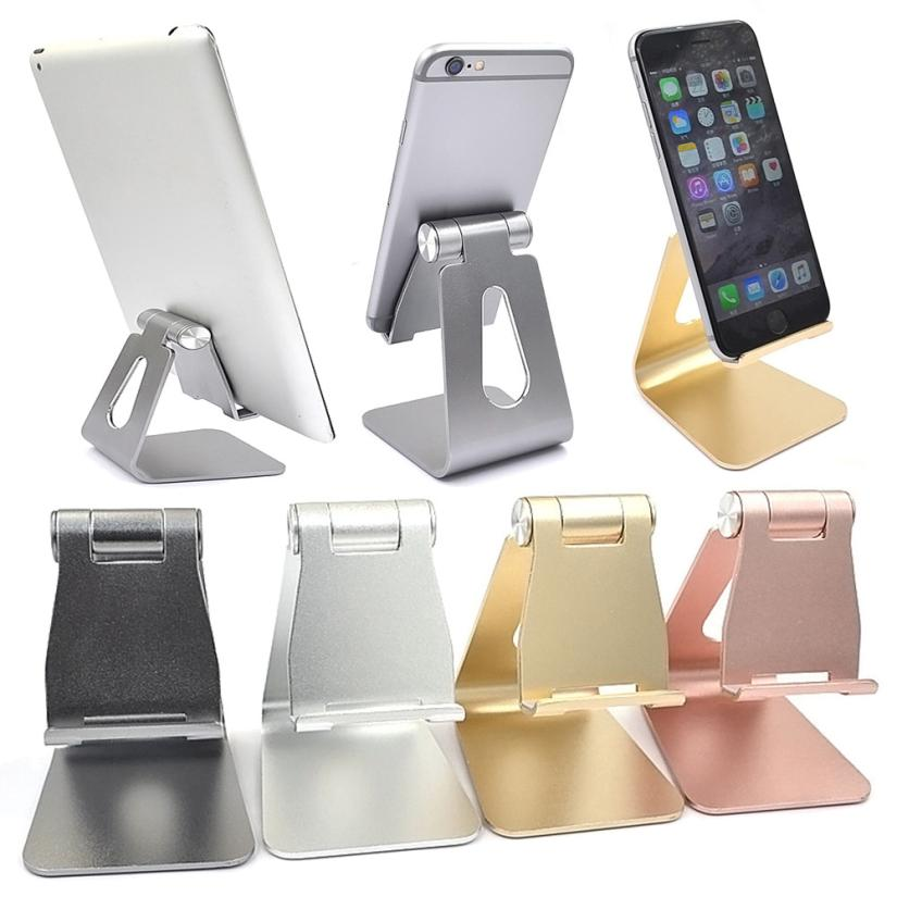 2017 Universal Holder Aluminum Metal Desk Stand 180 Degree Rotation Auto for iPhone for Samsung for Huawei for Nintendo Switch
