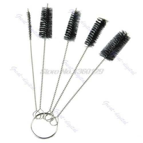 Voor Tattoo Cleaning Brush Kit Tip Voor Tube Machine Grip Airbrush Spuitpistool S08 Drop schip