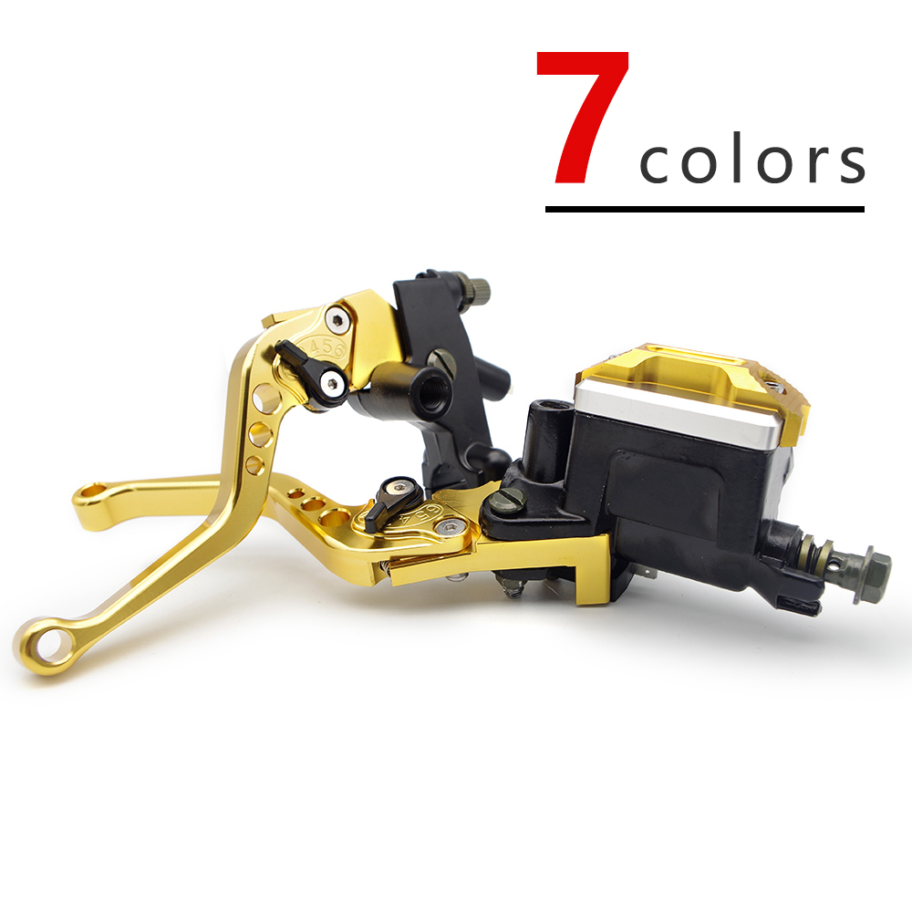 #W435 Motorcycle Brake lever Accessories For honda xr 250 honda transalp  burgman 650 vespa gts honda dio yamaha raptor 700-in Covers & Ornamental Mouldings from Automobiles & Motorcycles    1