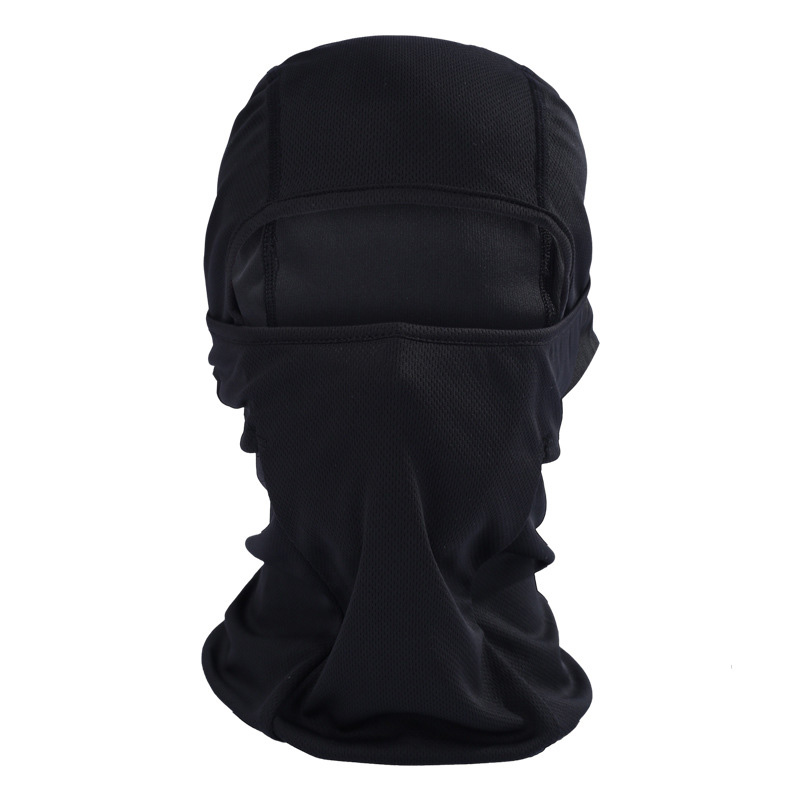 Largeswan Summer Thin Section Cap Riding Hat Tactical Motorcycle Mask Cap Balaclava Riding Bicycle Cycling Winter Cap