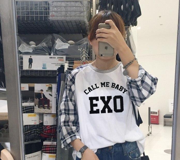 67ddcd74fca Exo Call Me Baby Luhan South Korea Clothing Tao Sehun Xiumin Korean ...