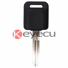 Keyecu New Uncut Replacement Transponder Ignition Car Key Fob 4D60 Chip for Nissan Infiniti