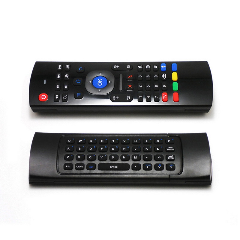 Voice-Micphone Remote-Control Fly-Air-Mouse Kodi Wireless-Keyboard Tablet Mini Pc Android