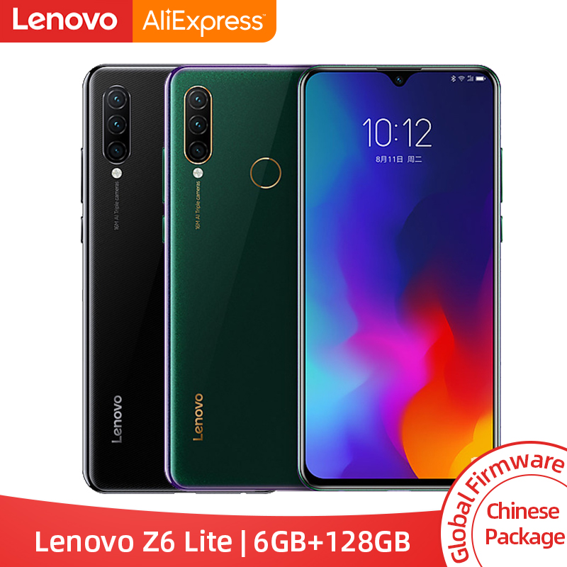Global ROM Lenovo Z6 Lite 6GB 128GB Snapdragon 710 Octa Core Smartphone Triple Camera 6 3