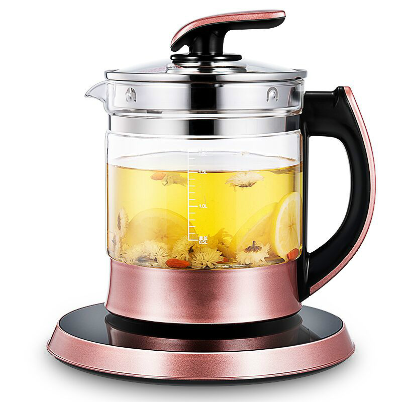 цена на NEW Health pot multi-functional automatic thickening glass electric kettle flower tea decoction