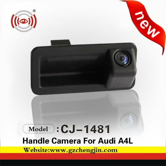 Hot sell CCD handle  car camera for Audi A4L 5H5