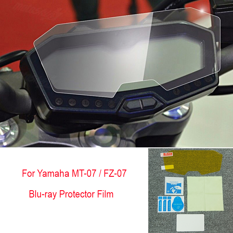 Cluster Scratch Protection Clear Film Screen Protector for YAMAHA MT-07 FZ-07