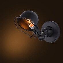 الصناعية لوفت jielde صغيرة قابلة للتعديل الرجعية E14 وحدة إضاءة LED جداريّة أضواء الشمعدان الجدار مصباح تركيبات للمنزل الإضاءة السرير غرفة المعيشة