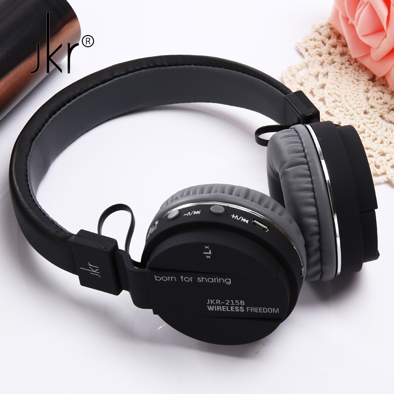 JKR Hifi Auricular Big Casque Cordless Wireless Blutooth Headphone Bluetooth Earphone For Phone Headset Head Sluchatka Headfone