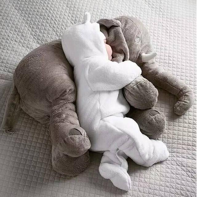 Elefante Macio Automotivo Travesseiro Sono Do Bebê Berço Do Bebê Almofada Do Assento de Carro Crianças Quarto Cama Portátil Dobrável Cama de Bebê Set 5 cor