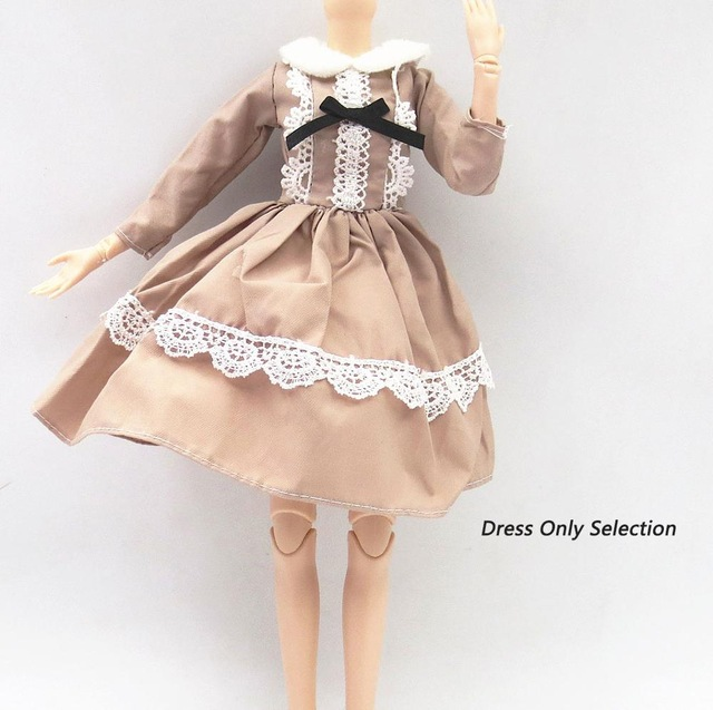 42cm 45cm 48cm Beautiful Doll's Dress For 42 Cm Bjd Doll Clothes Kids Toy Accessories