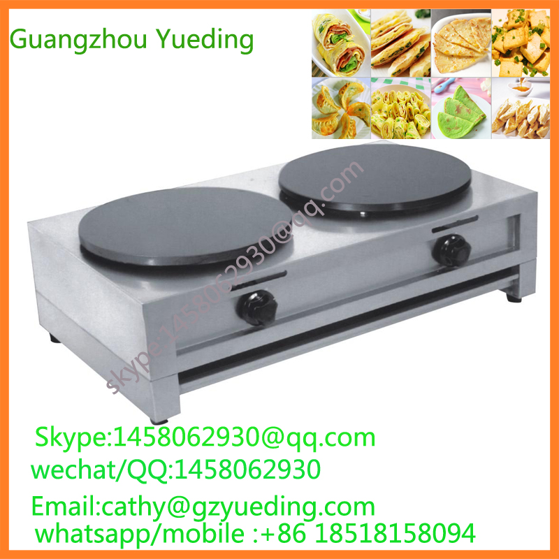 Table up Commercial high efficiency Non-stick 2-Plate Stainless Steel Gas Crepe Maker the illusionists 2 0 2018 01 25t20 00