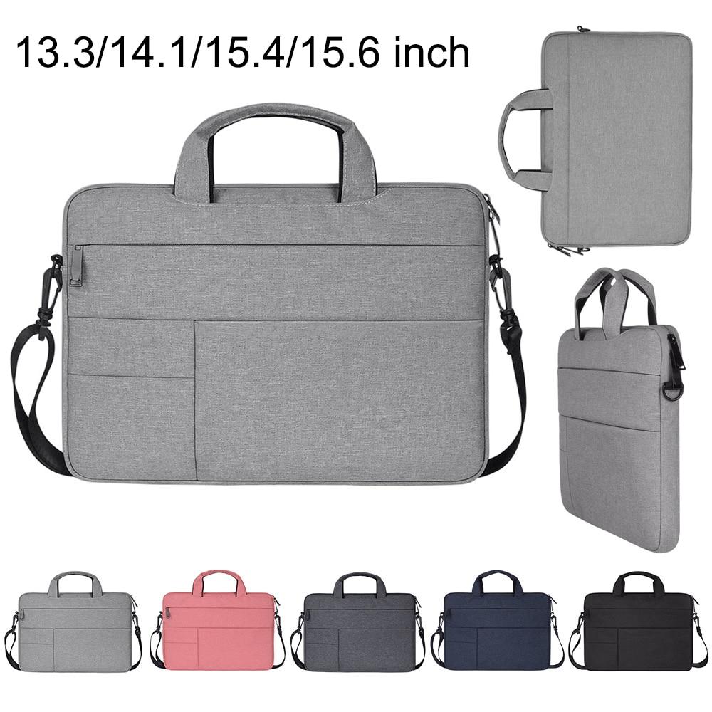 Polyester Waterproof Laptop Shoulder Bag Notebook Case for a