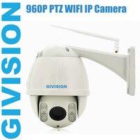 1.3MP IP Camera PTZ 960P hd Wireless Wifi 30m ir onvif outdoor waterproof pan tilt 4x zoom ip cam speed dome surveillance camera