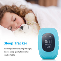Q50 OLED Screen GPS Smart Kid Watch SOS Call Location Finder Locator Tracker For Childreb Anti