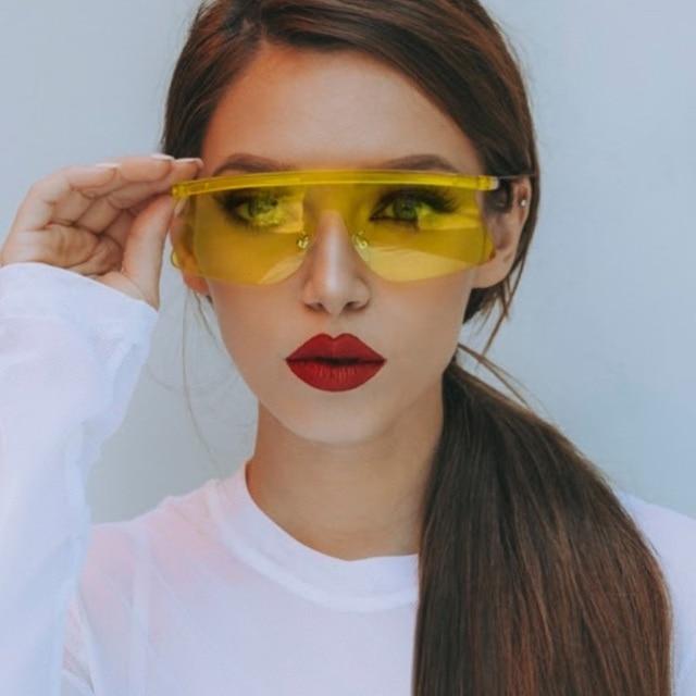 Ясно очки модные Солнцезащитные очки для женщин Для женщин Кошачий глаз Защита от солнца Очки для дамы ясно без оправы зеркало розовый Защита от солнца Очки люнет De Soleil