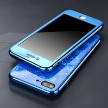 360 магнитный чехол для iphone XS Max iphone XR Магнитный стеклянный чехол для iphone 6 S 6 S Plus iphone 7 8 Plus X 10 Полный Чехол