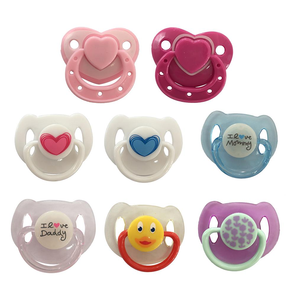 1PC Newest Fashion Simulation Dolls Magnetic Nipple Reborn Doll Baby Toy Magnetic Pacifier Cute Gift Baby Nipple