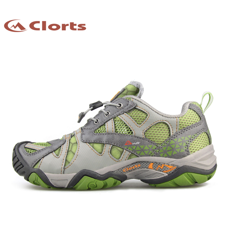 ФОТО 2016 Clorts Women Aqua Shoes WT-24A Outdoor Upstream Sneakers Water Sports Shoes Athletic Quick-dry Beach Sandals
