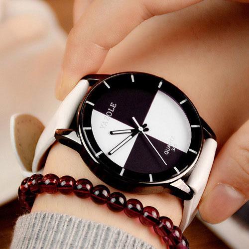 b075e245fd9 YAZOLE 2016 Ladies Watch Mulheres Relógios de Marca Famosa Feminino Relógio  de Quartzo Relógio de Pulso