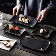 Antowall блюдо для суши в японском стиле керамическое закусок