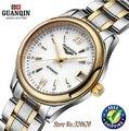 GUANQIN watches women fashion luxury sapphire Waterproof full steel wristwatches Lady watch women brand women's dress watches