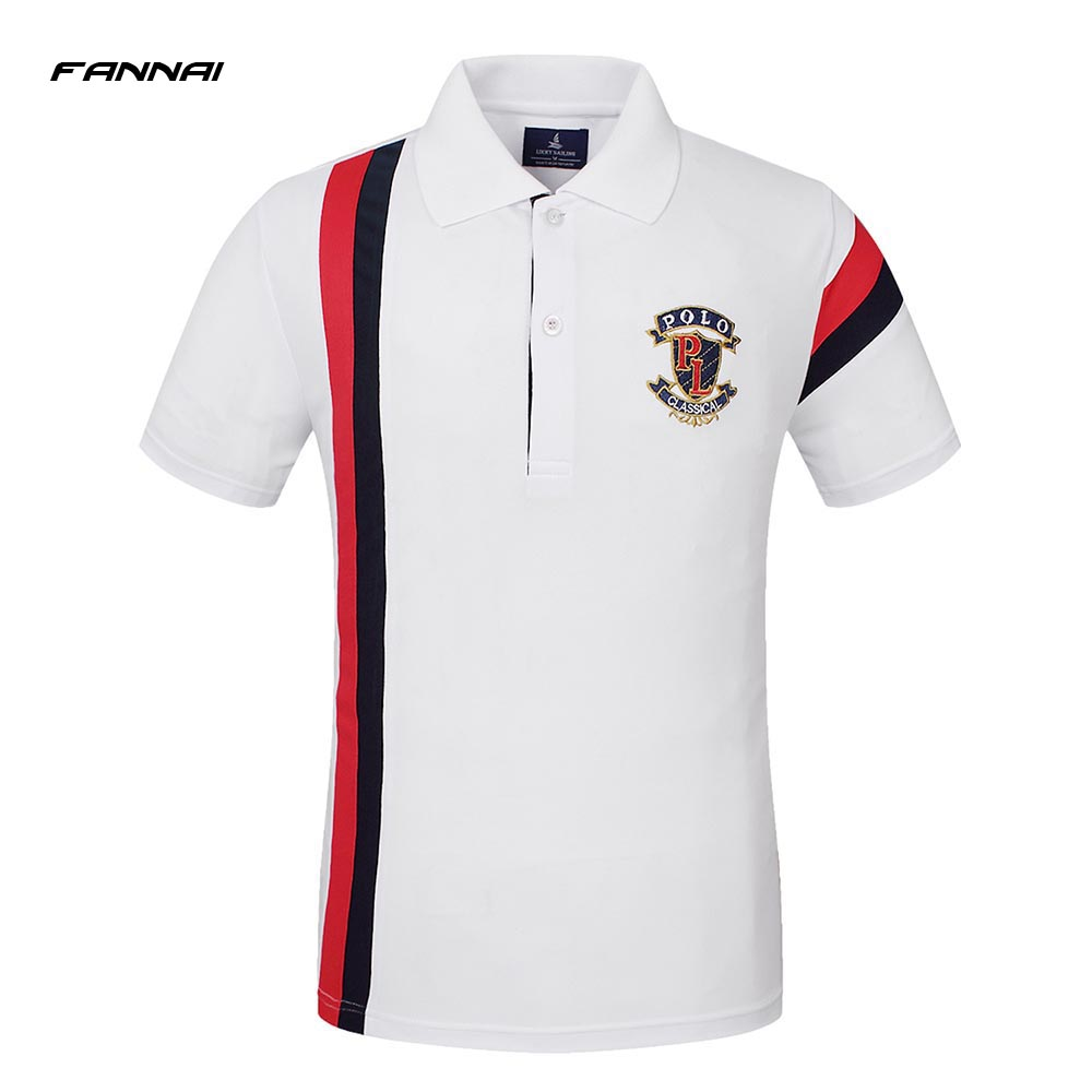 c677214c485 Dropwow High Quality Brand Summer Short Sleeve Polo Shirt Man ...