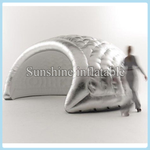 Newest silver inflatable dome tent inflatable igloo tent inflatable air dome tent disco dome for sale