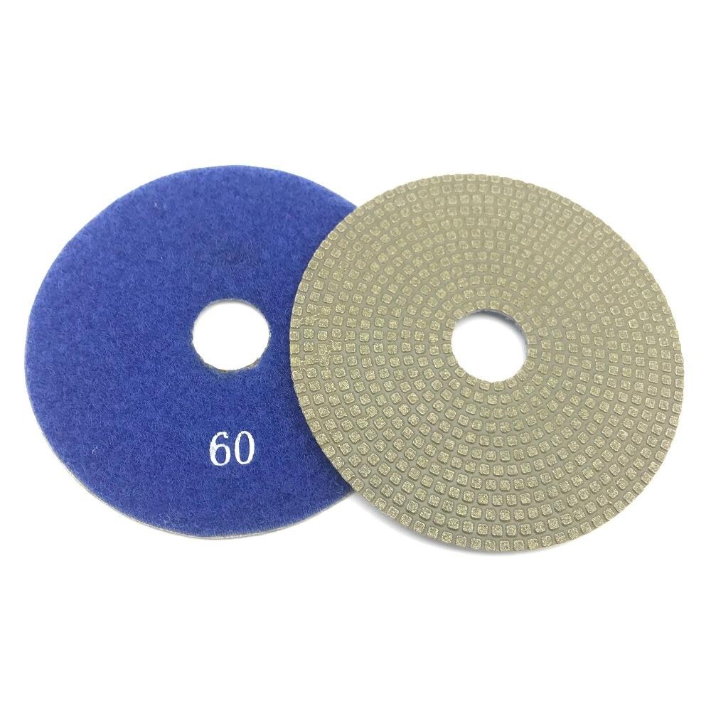Electroplated Diamond Polishing Pad Glass Concrete Stone Wet Dry Sandpaper for Glass Concrete Marble Stone Granite Sanding (3)