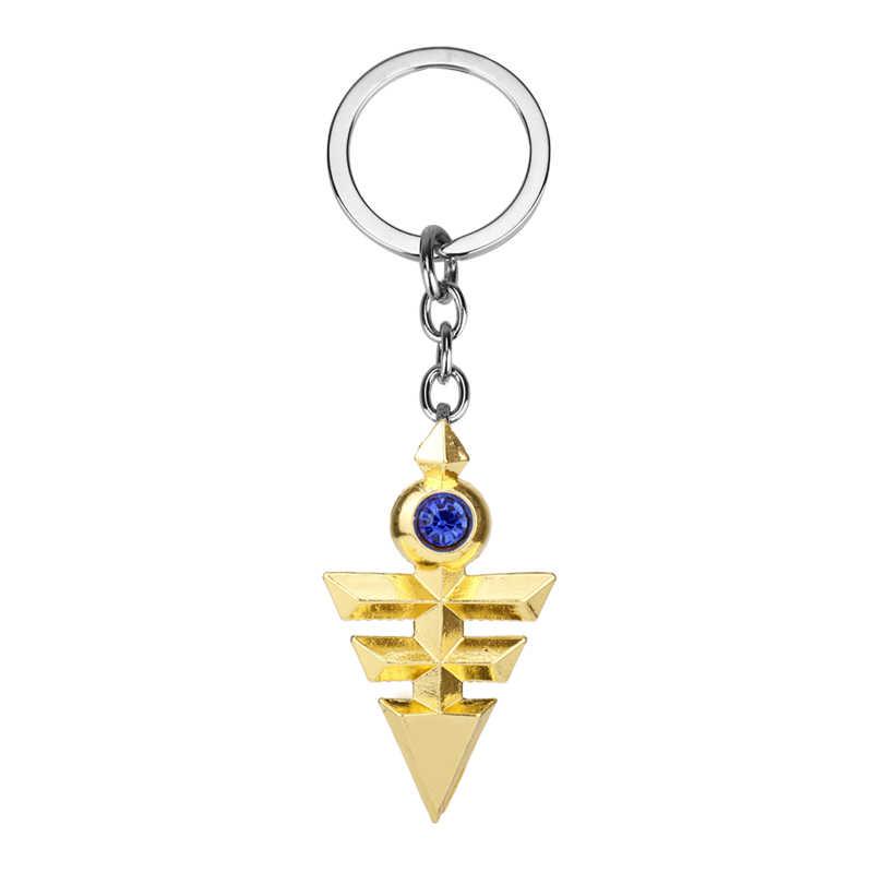 MQCHUN Горячая Аниме ювелирные изделия Yugioh Косплей Пирамида Египетский Глаз Гора Yu-Gi-Oh брелок Yugioh Zexal Yuma косплей брелок