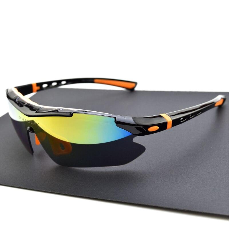 33a3329e57608 Polarizada Bicicleta Óculos De Ciclismo óculos de Sol Das Mulheres Dos  Homens Do Esporte Ciclismo Óculos
