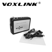 VOXLINK Cassette tape to MP3 Converter Cassette Audio Recorder into USB Flash Drive U Disk Digital Audio Music Player
