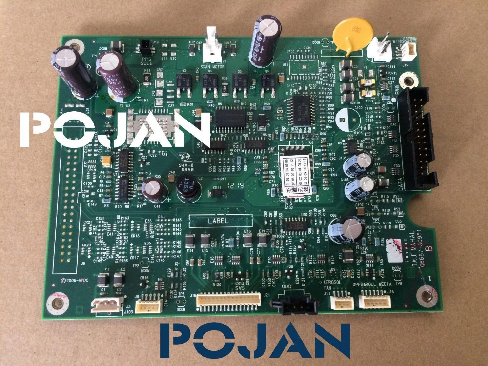 Q6675-60018 Fit for DesignJet Z2100 Z3100 Z3200 ps Printmech PCA Board 24 & 44 inch plotter parts POJAN q6675 67033 new hard drive disk for designjet z2100 z3100 ps 160gb w fw sata hdd q6675 60121 q5670 67001