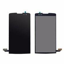 Оригинальный Для LG Leon H340 h320 H324 H340N H326 MS345 C50 ЖК-дисплей Дисплей Сенсорный экран планшета Ассамблеи черный Бесплатная доставка