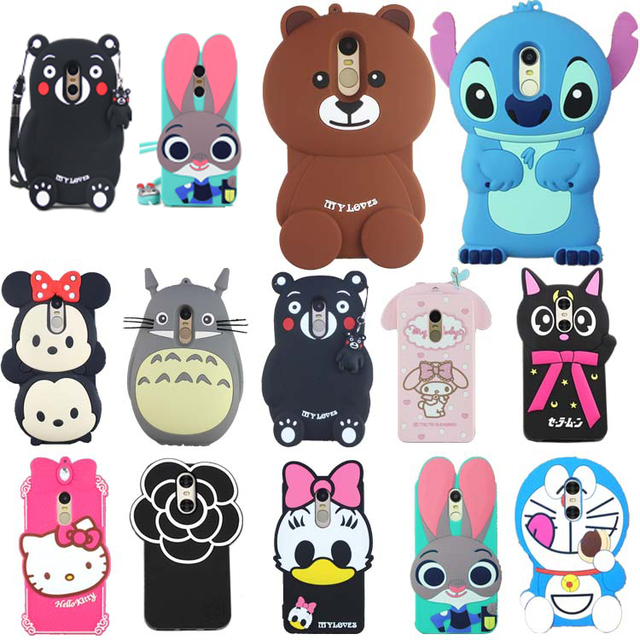 brand new 1846b e8e69 US $5.78 15% OFF|30 Types for Xiaomi Redmi Note 4 Case Lovely Cute 3D  Cartoon Soft Silicon Cover For Xiaomi Redmi Note4 Hongmi Note4 Phone  Cases-in ...