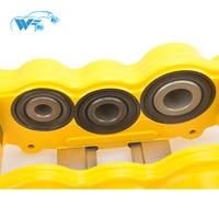 KOKO RACING 6 big pot yellow cras brake caliper fit with WT8520 brake kit for skoda octavia