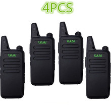 Buy 4PCS WLN KD-C1/KD-C2Walkie Talkie UHF 400-470 MHz 5W Power 16 Channel  Kaili MINI handheld Transceiver C1 Two Way Radio C2 directly from merchant!